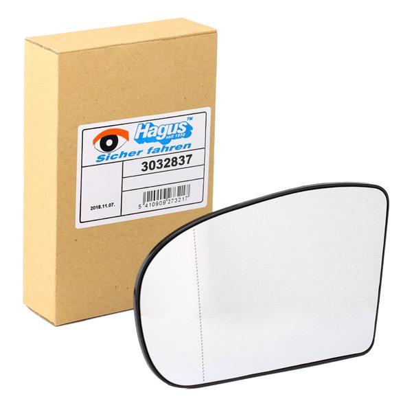 3032837 VAN WEZEL mit Feder, links Spiegelglas, Außenspiegel 3032837 günstig kaufen