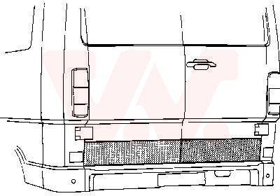 Bakdörr 3070149 VAN WEZEL — bara nya delar