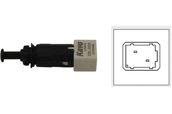 EBL-6502 KAVO PARTS Pol-Anzahl: 2-polig Bremslichtschalter EBL-6502 günstig kaufen