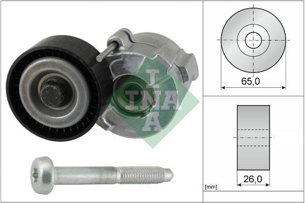 INA: Original Riemenspanner, Keilrippenriemen 534 0610 10 (Ø: 65,00mm, Breite: 26,00mm)