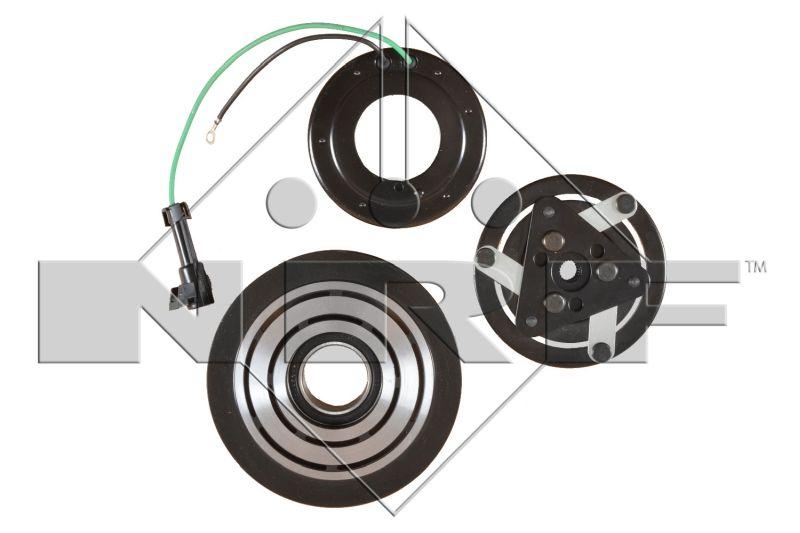NRF: Original Magnetkupplung Kompressor 380029 ()