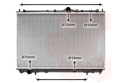 32002101 VAN WEZEL Kühlrippen gelötet, Aluminium Kühler, Motorkühlung 32002101 günstig kaufen
