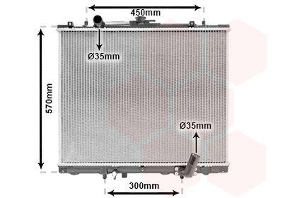 32002162 VAN WEZEL Kühlrippen gelötet, Aluminium Kühler, Motorkühlung 32002162 günstig kaufen