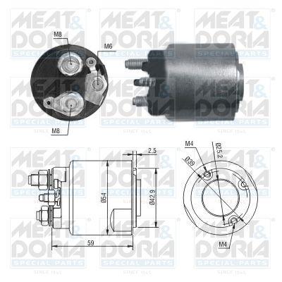 MEAT & DORIA: Original Magnetschalter Anlasser 46203 ()