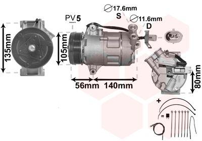 Original OPEL Kompressor 3700K428