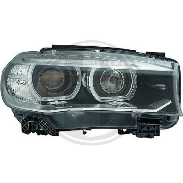 BMW X6 2012 Frontscheinwerfer - Original DIEDERICHS 1293084 Links-/Rechtsverkehr: für Rechtsverkehr, Fahrzeugausstattung: für Fahrzeuge mit Leuchtweiteregelung (automatisch)