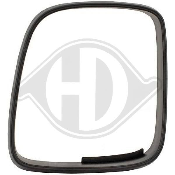 Wing mirror housing 2205628 DIEDERICHS — only new parts