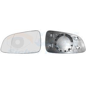 3745837 VAN WEZEL Vänster Spegelglas, yttre spegel 3745837 köp lågt pris