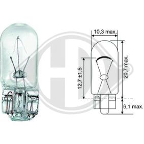 buy and replace Bulb, indicator DIEDERICHS LID10078