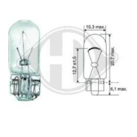 LID10078 DIEDERICHS W5W, W2,1x9,5d, 12V, 5W Glühlampe, Blinkleuchte LID10078 günstig kaufen