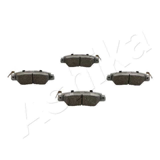 51-03-318 ASHIKA Hinterachse Höhe: 42,5mm, Dicke/Stärke: 14,5mm Bremsbelagsatz, Scheibenbremse 51-03-318 günstig kaufen
