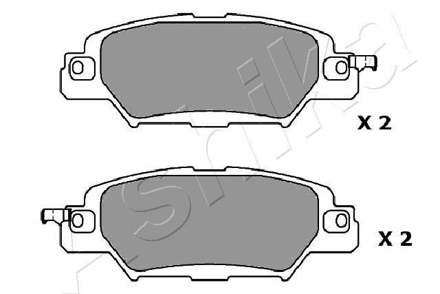 51-03-318 Bremsbelagsatz ASHIKA - Markenprodukte billig