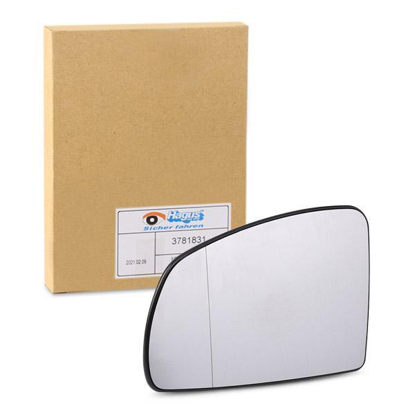 Original OPEL Spiegelglas Außenspiegel 3781831