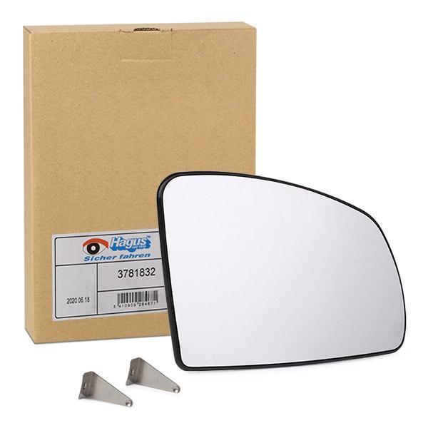 Rückspiegelglas VAN WEZEL 3781832