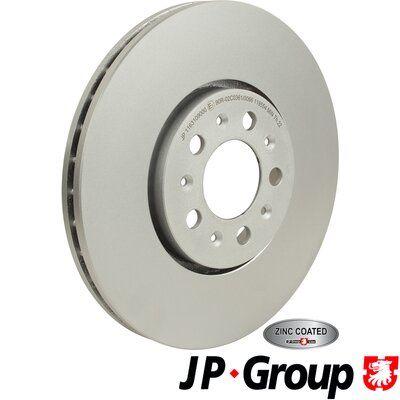 Volkswagen BORA JP GROUP Disque de frein 1163109000
