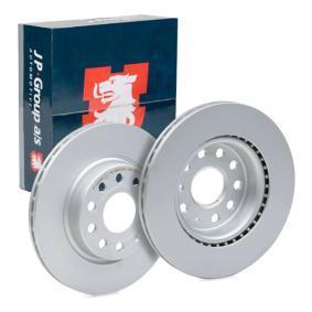 1163101400 JP GROUP Eje delantero, ventilado, revestido Ø: 280mm, Núm. orificios: 5, Espesor disco freno: 22mm Disco de freno 1163109300 a buen precio