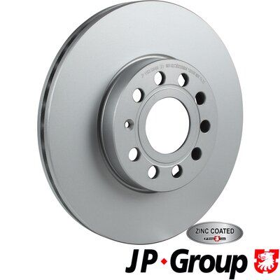 Volkswagen TARO JP GROUP Disque de frein 1163109400
