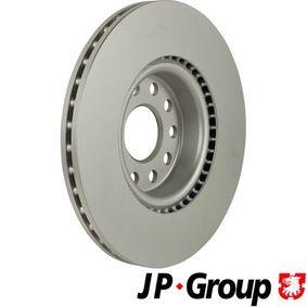 1163109500 Discos de Freno JP GROUP JP GROUP 1163101600 - Gran selección — precio rebajado