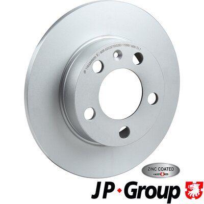 Volkswagen BORA JP GROUP Disque de frein 1163205600