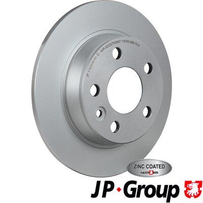 Volkswagen TARO JP GROUP Disque 1163206700