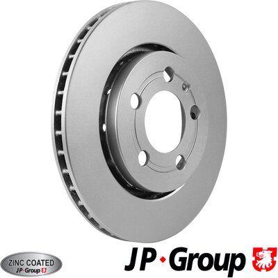 Volkswagen BORA JP GROUP Disque 1163207000
