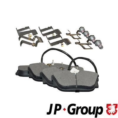 Bremsbelagsatz JP GROUP 1163707510