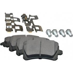 1163707719 JP GROUP Hinterachse, für Verschleißwarnanzeiger vorbereitet Dicke/Stärke: 17,2mm Bremsbelagsatz, Scheibenbremse 1163707710 günstig kaufen