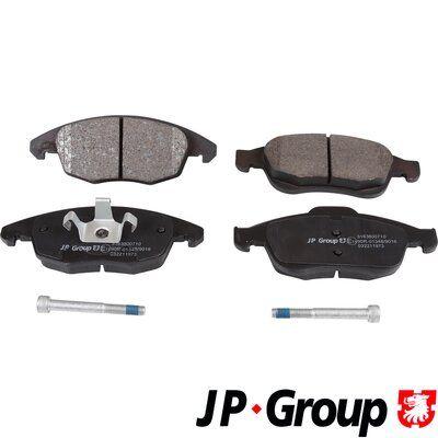 Brake pad set disc brake 3163600710 JP GROUP — only new parts