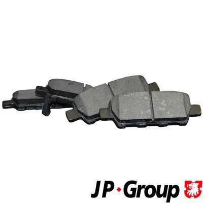4063700619 JP GROUP Hinterachse, mit akustischer Verschleißwarnung Dicke/Stärke: 14,3mm Bremsbelagsatz, Scheibenbremse 4063700610 günstig kaufen