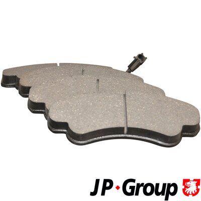 JP GROUP Bremsbelagsatz, Scheibenbremse 4163601010