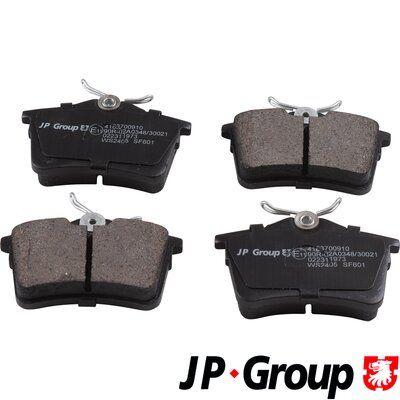 JP GROUP Bremsbelagsatz, Scheibenbremse 4163700910