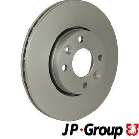 4363100809 JP GROUP Vorderachse, belüftet, beschichtet Ø: 260mm, Lochanzahl: 4, Bremsscheibendicke: 22mm Bremsscheibe 4363100800 günstig kaufen