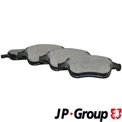 4363601319 JP GROUP Vorderachse, nicht für Verschleißwarnanzeiger vorbereitet Dicke/Stärke: 18mm Bremsbelagsatz, Scheibenbremse 4363601310 günstig kaufen