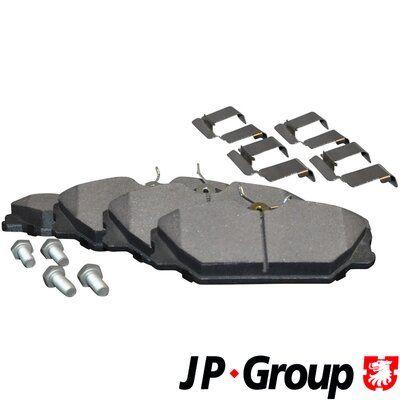 4363601519 JP GROUP Vorderachse, exkl. Verschleißwarnkontakt Dicke/Stärke: 18mm Bremsbelagsatz, Scheibenbremse 4363601510 günstig kaufen