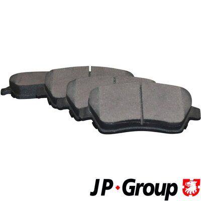 4363601919 JP GROUP Vorderachse, exkl. Verschleißwarnkontakt Dicke/Stärke: 17,3mm Bremsbelagsatz, Scheibenbremse 4363601910 günstig kaufen