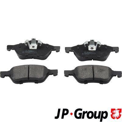 4363602810 JP GROUP Vorderachse, exkl. Verschleißwarnkontakt Dicke/Stärke: 18,3mm Bremsbelagsatz, Scheibenbremse 4363602810 günstig kaufen