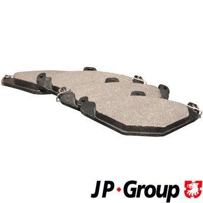 JP GROUP Kit de plaquettes de frein, frein à disque 4363700110