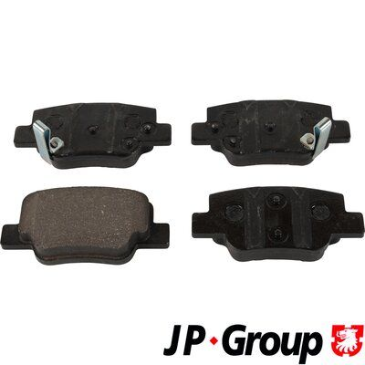 JP GROUP Bremsbelagsatz, Scheibenbremse 4863602010