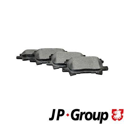 JP GROUP Bremsbelagsatz, Scheibenbremse 5863700110