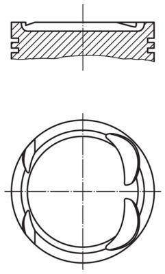 MAHLE ORIGINAL: Original Kolben 021 PI 00117 002 ()