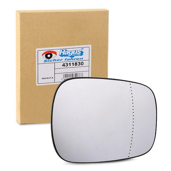 Rückspiegelglas VAN WEZEL 4311830