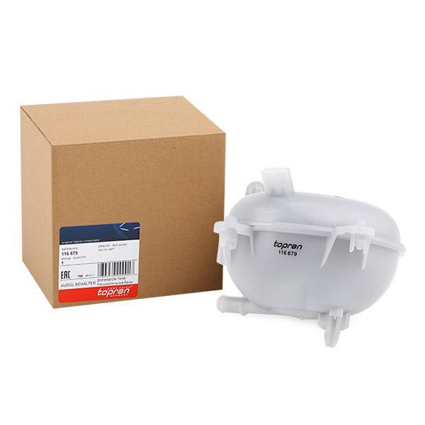 TOPRAN Ausgleichsbehälter, Kühlmittel 116 679