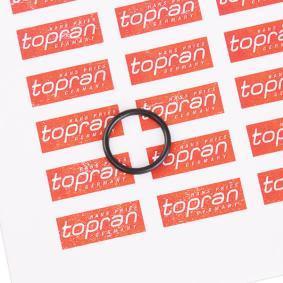 Įsigyti ir pakeisti tarpiklis, alyvos aušintuvas TOPRAN 503 094