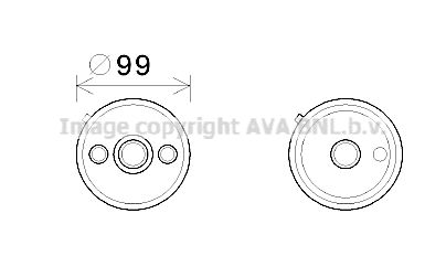 Automatikgetriebe Ölkühler Touran 1T1, 1T2 2005 - PRASCO VN3358 ()