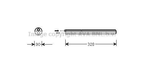 Achetez Bouteille deshydrateur clim PRASCO VND210 () à un rapport qualité-prix exceptionnel