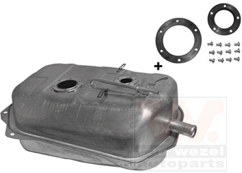 Réservoir de carburant et bouchon de réservoir 5240083 VAN WEZEL — seulement des pièces neuves
