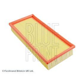 ADG022157 BLUE PRINT Filtereinsatz Länge: 294mm, Breite: 142,0mm, Höhe: 49mm Luftfilter ADG022157 günstig kaufen