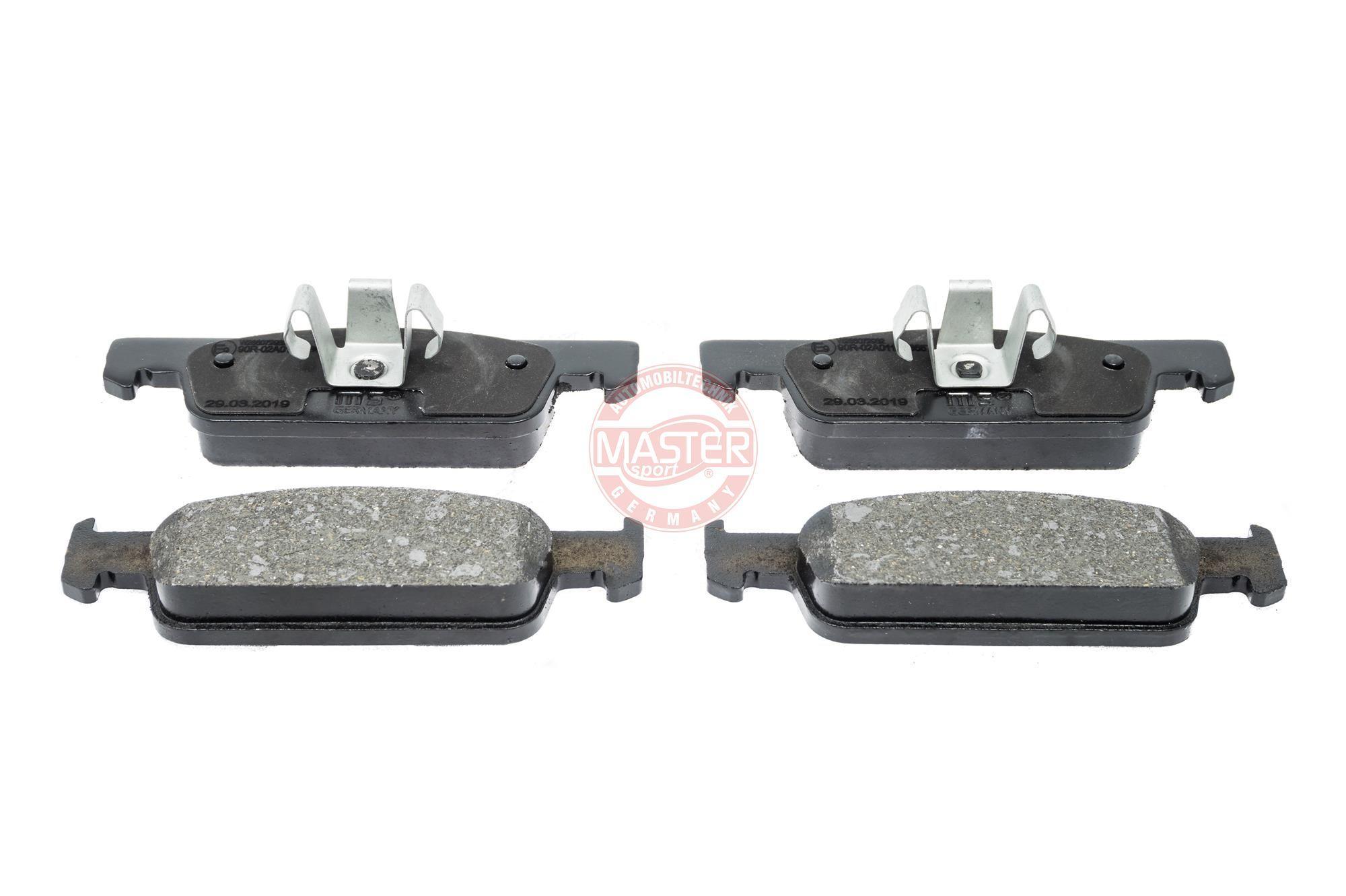 Original SMART Bremsklötze 13046072982N-SET-MS