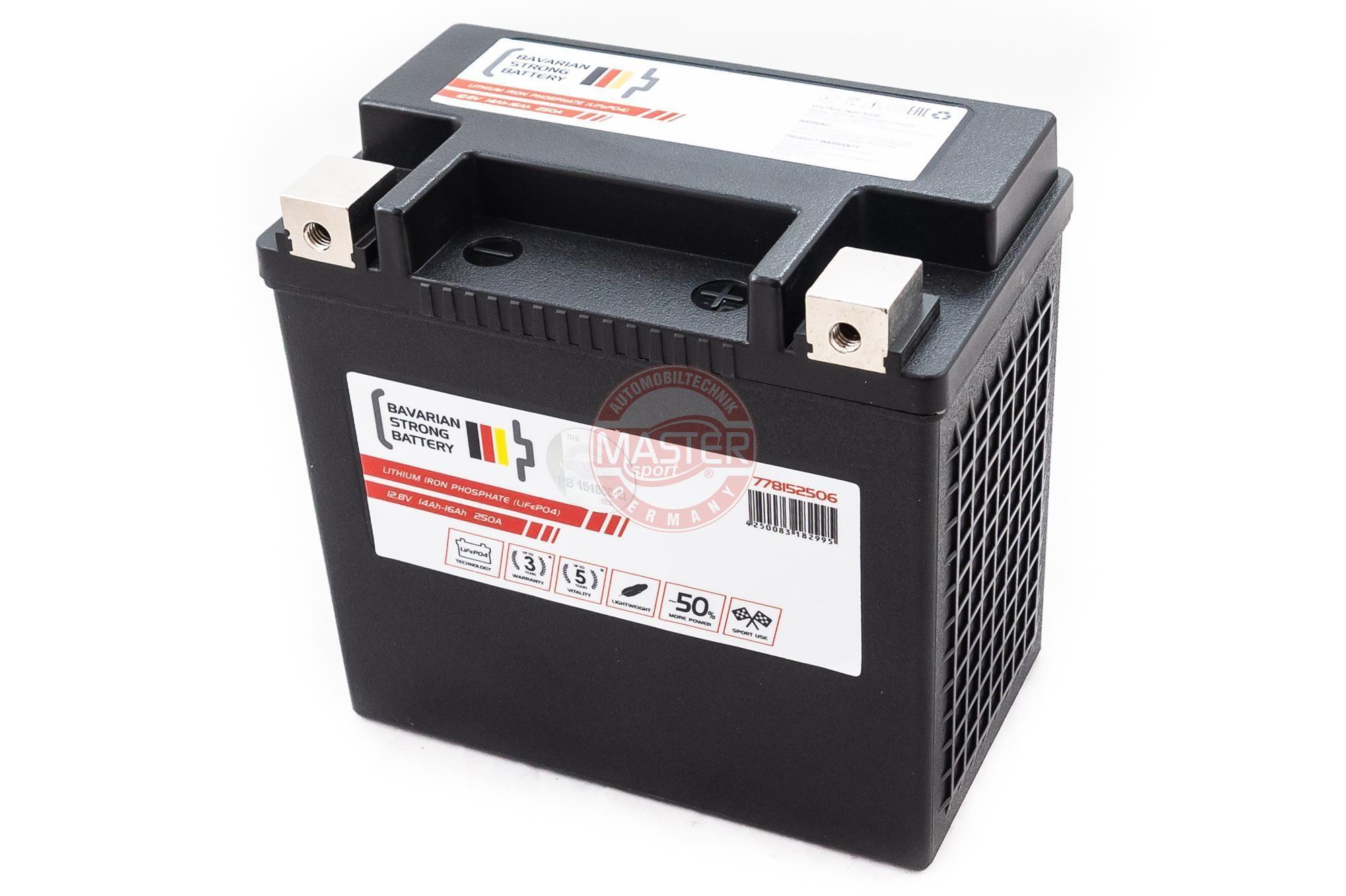 OE Original Starterbatterie 778152506 MASTER-SPORT