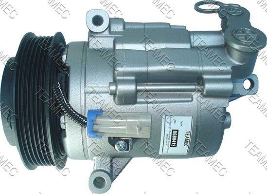 CSP15 TEAMEC PAG 46 Riemenscheiben-Ø: 120mm Klimakompressor 8600412 günstig kaufen